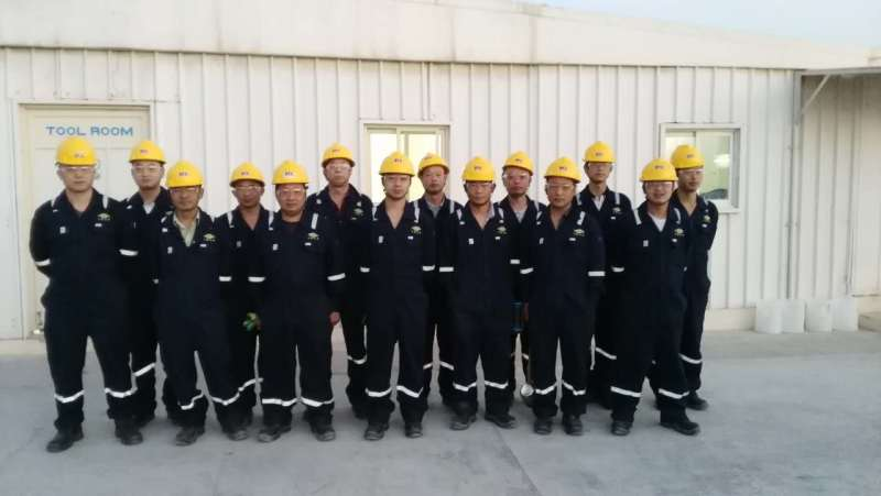 Butadiene reconstruction project ( our workers)